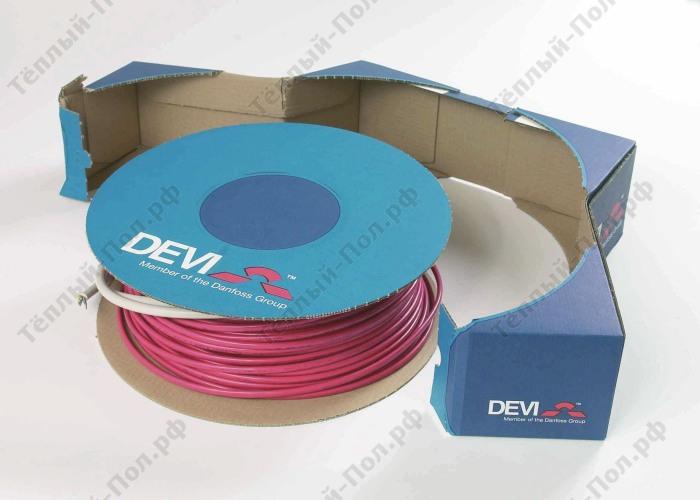 Нагревательный кабель deviflex dtie-17